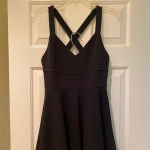 Silence + Noise Size M Dress NWT Black Stretchy